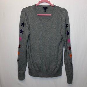 GAP gray star Sweater 🌟